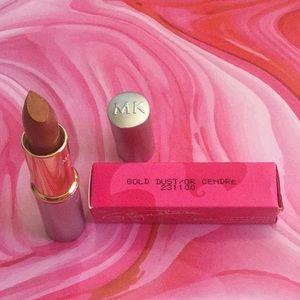 MK creme lipstick-gold dust